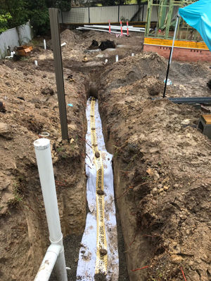 Sewer main extension - Charlestown