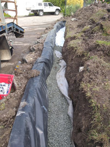 ground water drainage , Teralba