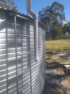 Rain water Tank installs , Bundabah