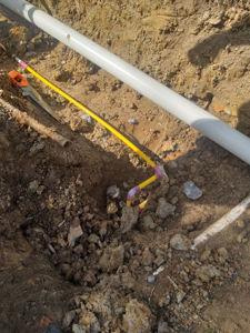 gas installation - Nth Lambton