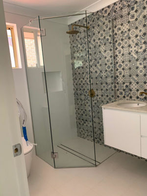 bathroom renovation - Jewells, Lake Macquarie