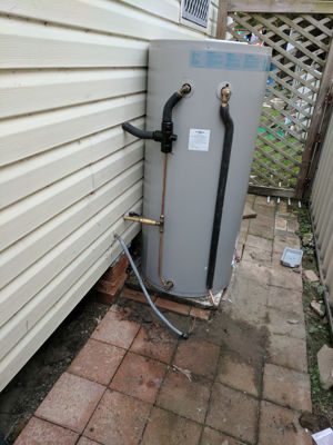 Hot water system changeover - Speers Point , Lake Macquarie